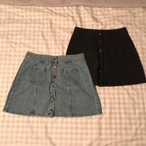 Brandy Melville Denim skirt